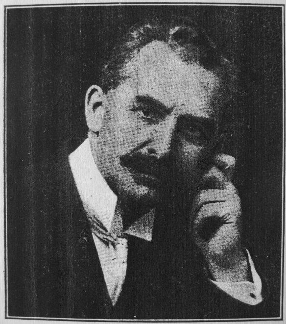 CF Pretty, lumber baron, fascist, and owner of the Lumbermen's Building. British Columbia Magazine, December 1911