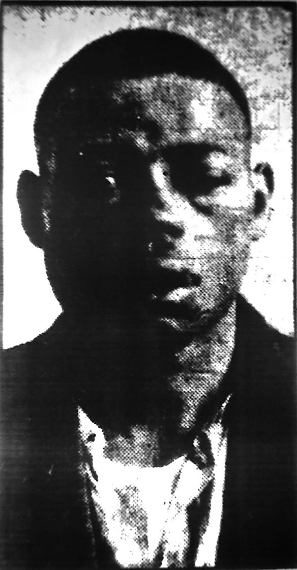 Fred Deal, the day of his arrest.