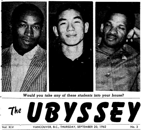 Would you_Ubyssey 1962