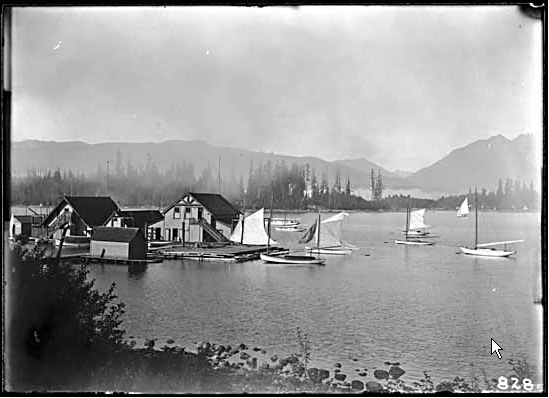 Coal Harbour squatters, 1904. Photo Vancouver Public Library #2914.