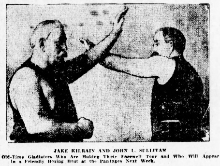 John L and Kilrain World 10Sept1910